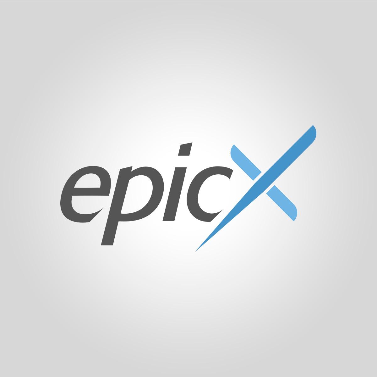 Epic X Logo The Pixel Studio